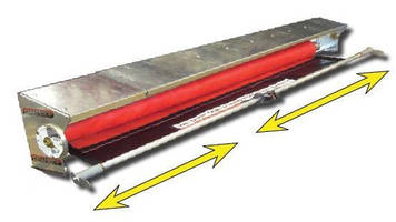 Tarp System Housings are suited for dump trucks and trailers.