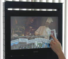 Touchscreen Monitor is designed for rack-mount applications.