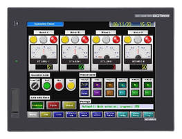 Multimedia HMI offers real-time video playback and record.
