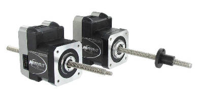 Linear Actuators combine motor, electronics, and mechanics.