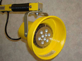 LED Lamp replaces incandescent dock lights.
