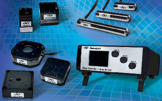 Piezo Stage, 3-axis Controller offer nanometer resolution.
