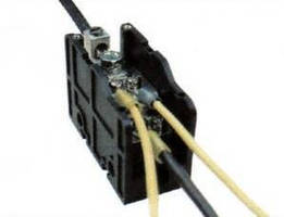 Power Distribution Terminal Block suits panel applications.