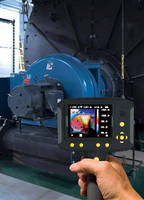 Thermal Imager pinpoints hottest and coldest temperatures.