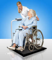 Wheelchair Scale features fully portable design.