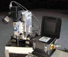 Portable unit provides large-bore thread-milling.