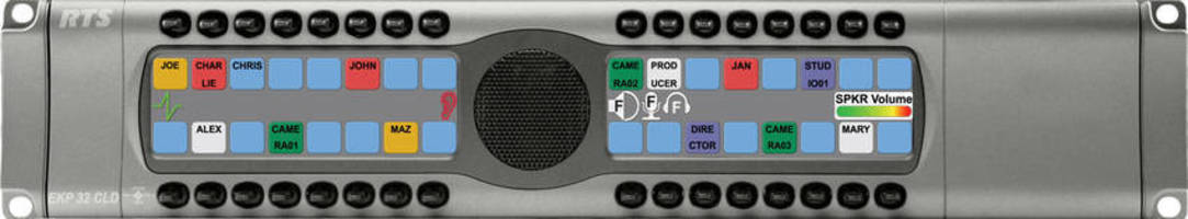 Keypanel is available with operational expansion.