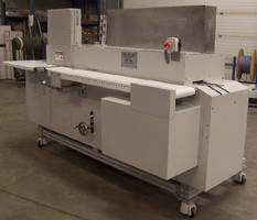 Infrared Conveyor Oven thermoforms medical stints.