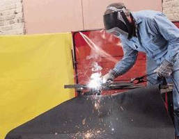 New Line of Welding Curtains