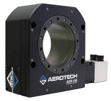 AGR Series Worm-Drive Rotary Stages Improve Speed, Load, and Long-Term Positioning Performance