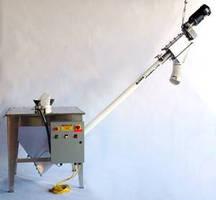 Flexible Screw Conveyor handles bulk dry powder/granules.