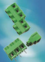 PCB Terminal Blocks carry high voltage, current ratings.