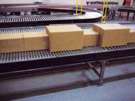 Belt-Driven, Live-Roller Conveyor is highly configurable.