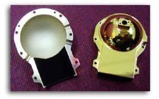 Laser Gold Plating for IR Reflectance