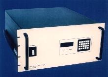 16 x 16 Video Matrix routes baseband video.