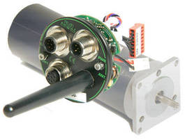 Integrated AC Servo Motor offers Bluetooth connectivity.