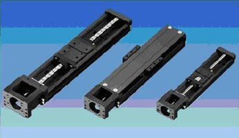 Single-Axis Actuators offer ballscrew lead options.