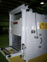 Conveyor Oven cures epoxy in automotive transmission parts.