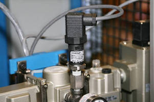 Pressure Transducer offers digital temperature compensation.