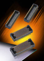 Board-To-Board Connectors feature 3.0 mm stacking height.