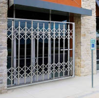 Folding Security Gates provide instant access control.