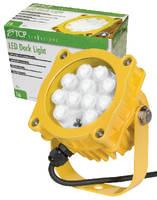 LED Dock Light helps conserve energy.