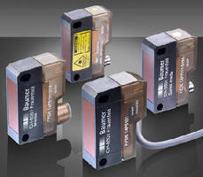 Photoelectric Sensors are designed for presence detection.