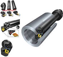 High Pressure Tooling Solutions suit turning applications.