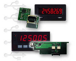 Panel Meters offer USB option cards.
