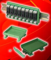 DIN-Rail Mounting for Open PCB Assemblies