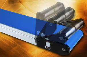 Low-Profile Belt Conveyor offers tension release mechanism.