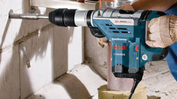 Rotary/Demotion Hammers offer vibration dampening features.