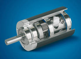 Coaxial-Drive Planetary Gearhead offers low-noise operation.