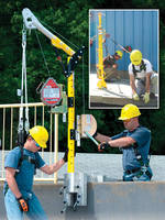 Miller DuraHoist(TM) Safety Systems Offer Safety Solutions for Confined Space/Rescue/Fall Arrest