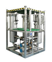 Filtration System enables continuous on-line flow.