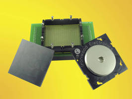 Socket holds 1,156-pin, 1 mm pitch BGA packages.