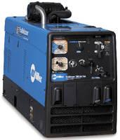 Jobsite Welder integrates air compressor and generator.