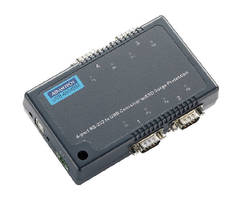 Converters offer serial connectivity for USB-equipped PCs.