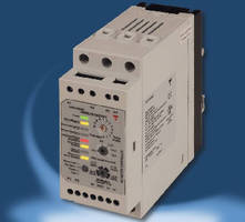 Motor Softstarter includes overload protection.
