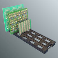 Flat PCB Trays for In Process Work Holding
