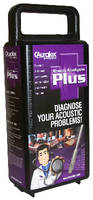 Tool Kit diagnoses acoustical issues in any room.