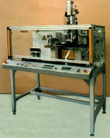 Wire Termination Machine features linear slide table.