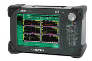 Olympus Introduces New Software for the OmniScan iX Industrial Ultrasonic Flaw Detector