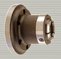 Collet Chucks operate on CNC lathes and turning centers.