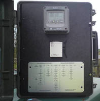 Portable Water Quality Monitor enables remote logging.