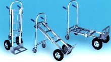 Hand Truck offers three handling options.