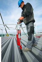 Decking Tool accelerates metal decking installation.