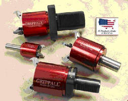Grippall(TM) Coolant or Air Actuated CNC Bar Puller