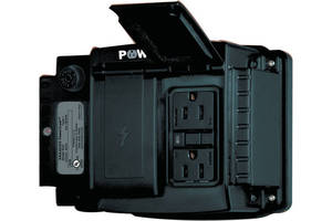 Power Supply provides 15 A power to jobsite boxes.