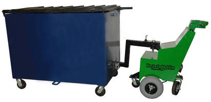 Waste Container Puller minimizes risk of worker injury.
